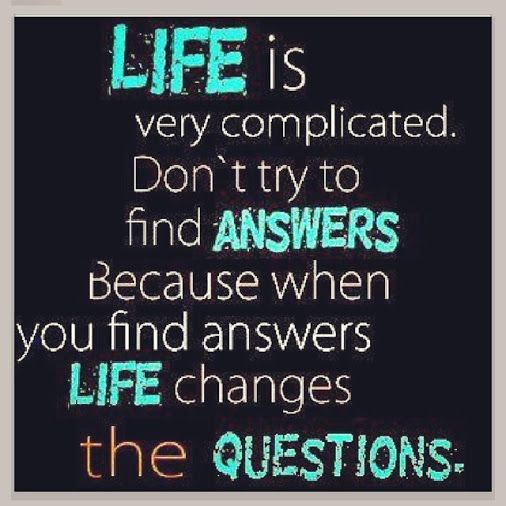 It's Only Complicated If You Are Stupid (3 Day Quote, Day
