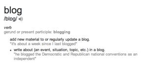 blog def