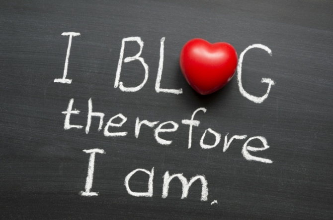 blog therefore am