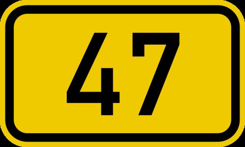 bundesstrase_47_number-svg